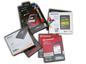 Artikel: 10 SSD'er på 240 og 256 GB