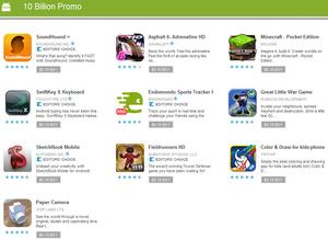 10 dagen - 10 apps - 10 cent in de Android Market
