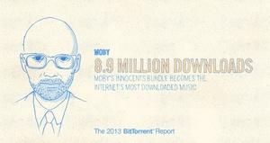Viime vuoden ladatuin musiikkitiedosto oli luvallisesti jaossa