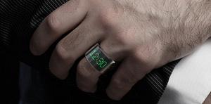 Den første smartring får LED-skærm og kan tage opkald