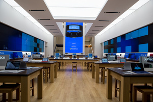 Microsoft opens their New York City flagship store