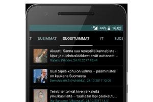 Rakastettu uutissovellus päivittyi: HIGH.FI Androidille korjaa bugeja, kyselee vähemmän oikeuksia