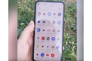 Googlen tuleva Pixel 4a -puhelimesta vuotanut videolla