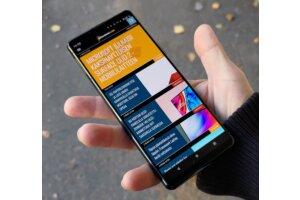 Arvostelussa Sony Xperia 5 III - pienten huippupuhelinten parhaimmistoa