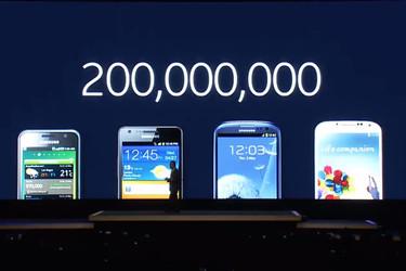 Samsungin Galaxy S -älypuhelimia myyty tähän mennessä yli 200 miljoonaa kappaletta