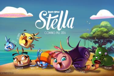Rovio vaikuttaa palaavan menestyskaavan pariin uudella Angry Birds Stella -pelillään