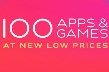 App Storessa iso alennuskampanja – 100 sovelluksen hinta laski