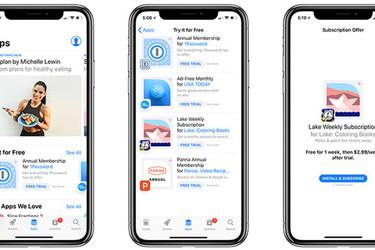 Apple korostaa tilattavia sovelluksia