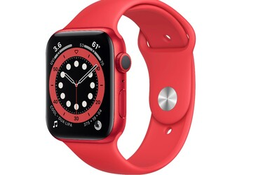 Päivän diili: Apple Watch Series 6 (GPS) punaisella urheilurannekkeella 299 euroa