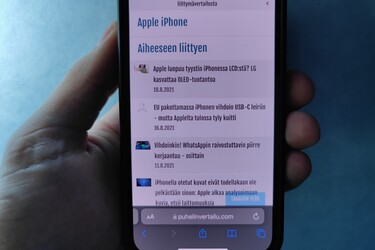 Applen viimeisin iOS 15 beta muuttaa jälleen Safari-selainta