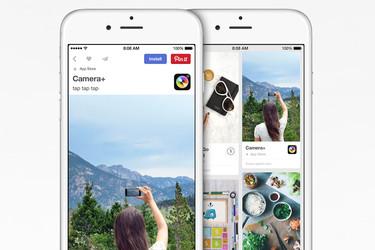 App Store -sovelluksia voi ladata myös Pinterestistä