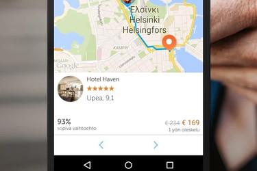 Androidin uusi Booking Now -sovellus auttaa löytämään sopivan majoituspaikan