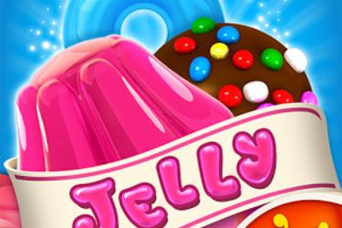 Supersuosittu Candy Crush Saga sai kolmannen osan: Jelly Saga julkaistiin