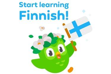 Suositussa Duolingo -sovelluksessa voi nyt opetella suomea