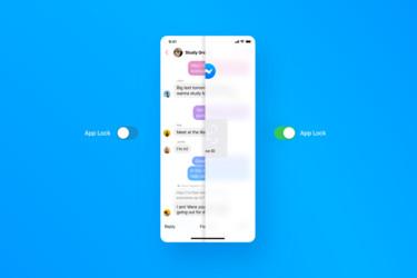 Facebookin Messengerin voi nyt avata sormenjäljellä tai kasvojentunnistuksella - lisäksi sovellukseen tulee uusia yksityisyysominaisuuksia