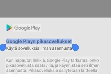 Google Kuvat -sovelluksella voi nyt etsiä tekstiä kuvista