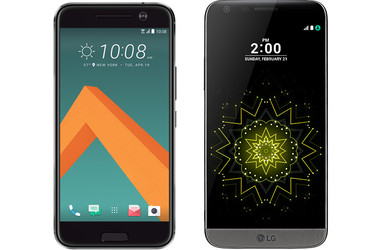 Lippulaivojen taisto – vertailussa LG G5 ja HTC 10