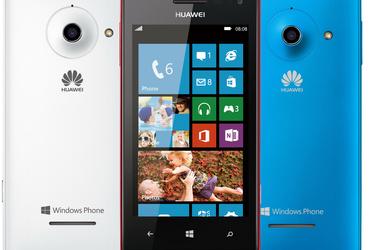 Huaweilta uutta tarjontaa Windows Phone 8 -puhelinten budjettiluokkaan
