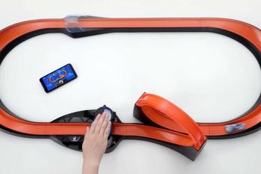 Hot Wheelsin uusilla autoilla keräät kierrosaikatiedot älypuhelimeen