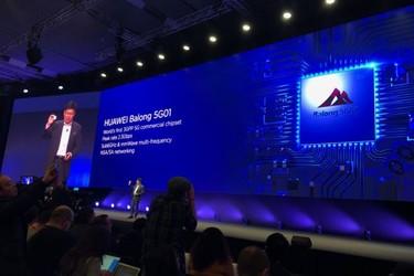 Huawei paljasti ensimmäisen 5G-modeeminsa