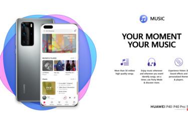 Huawei Music -suoratoistopalvelu julkaistiin Suomessa - hinta 9,99 euroa kuukaudessa