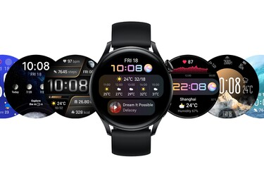 Huawei Watch 3 -älykello käyttää Huawein HarmonyOS -käyttöjärjestelmää