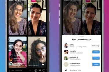 Instagramin Live-lähetyksessä voi olla nyt neljä henkilöä samanaikaisesti
