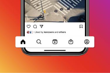 Instagram haluaa, että katsot Kelat-videoita ja ostat kauppapaikalta - navigointipalkkiin muutoksia