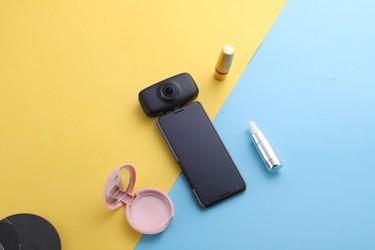 Kandao QooCam Fun -kamera myyntiin 159 euron hinnalla - liitetään puhelimen USB-C -porttiin, 360 asteen kuvaus