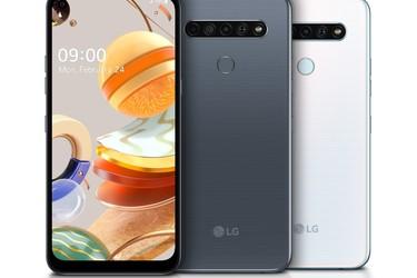 LG:ltä kolme K-sarjan puhelinta - Kaikissa neljä takakameraa, 6,5 tuuman näyttö ja 4000 mAh akku