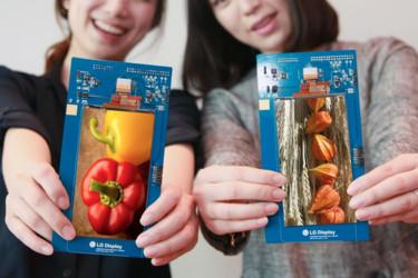 LG:ltä uusi äärimäisyyksiin venytetty näyttö älypuhelimiin
