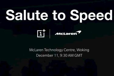 OnePlus julkaisee taas jotain uutta – McLaren mukana
