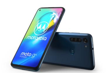 Motorola Moto G8 Power hinta 249 euroa: 5000 mAh akku, neljä takakameraa ja 6,4 Full HD+ -näyttö
