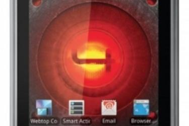 Näppäimistöllä varustettu Motorola Droid 4 kuvissa