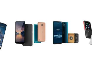 HMD Global julkaisi neljä puhelinta: Nokia 8.3 5G, Nokia 5.3, Nokia 1.3 ja Nokia 5310