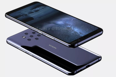 Uusia vuotoja Nokia 9 -hirviökamerapuhelimesta