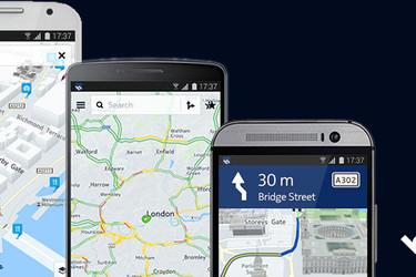 Nokian kartoista tuli hitti Androidilla