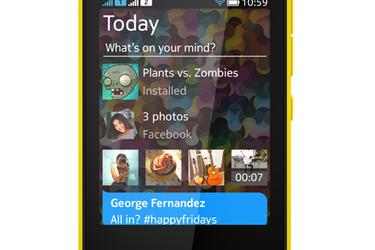 Nokialta uusi Asha 501 - vahvoja vaikutteita N9:n käyttöliittymästä