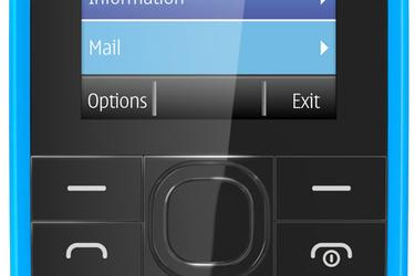 Uusi Nokia 109 on halpa peruspuhelin netinkäyttöön