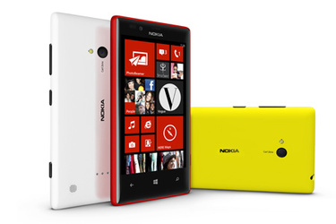 Nokia Lumia 720: 4,3 tuuman Windows Phone 8 -laite 249 eurolla