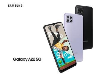 Samsung julkaisi edullisen Galaxy A22 5G -puhelimen 90 hertsin Full HD -näytöllä
