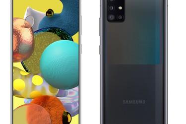 Samsung Galaxy A51 5G -puhelin on nyt ennakkotilattavissa - hinta 479 euroa