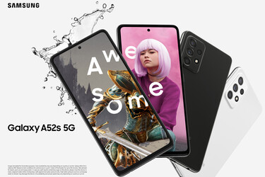 Samsung julkaisi tehokkaamman Galaxy A52s 5G -puhelinmallin