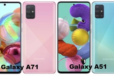 Samsung Galaxy A51 ja A71 julkaistu - parannusta kameroiden osalta edeltäjiin verratessa
