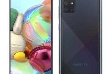 Testissä Samsung Galaxy A71: tyylikäs keskitason puhelin