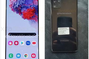 Samsung Galaxy S20:n kameraotoksia vuoti ennen julkaisua