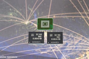 Samsung esitteli vähävirtaisemman ja nopeamman muistin älypuhelimiin