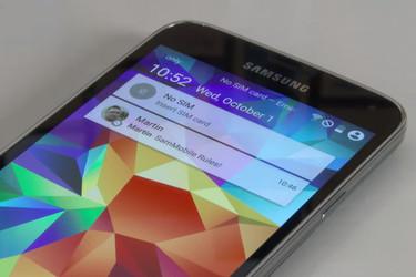 Näin Samsungin Galaxy S5 muuttuu: Android L tuo parannuksia käyttöliittymään