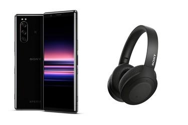Sony Xperia 5 -puhelimen ostajat saavat nyt kaupan päälle Sony WH-H910N -kuulokkeet