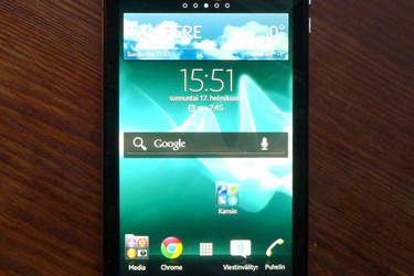 Testissä Sony Xperia V: Vedenkestävä 4G-puhelin